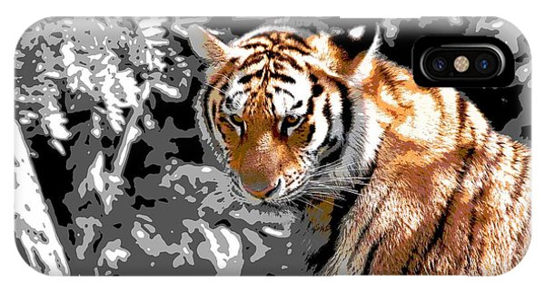 Tiger Poster IPhone Case