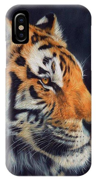Tiger Profile IPhone Case