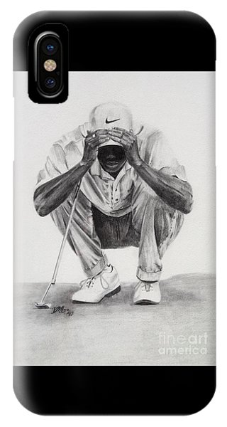 Tiger Putting IPhone Case