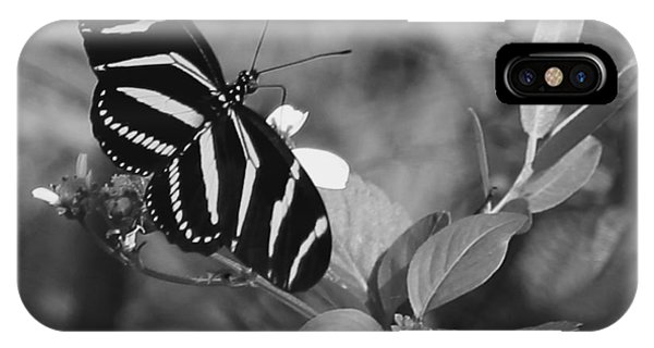 Tiger Stripe Butterfly IPhone Case