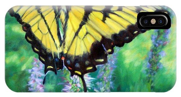 Tiger Swallowtail- Enjoying The Sweetness IPhone Case