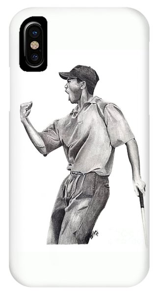 Tiger Woods Iconic IPhone Case