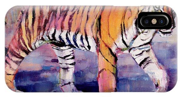 Tigress, Khana, India IPhone Case