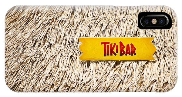 Tiki Bar iPhone Case - Tiki Bar by Carolyn Marshall