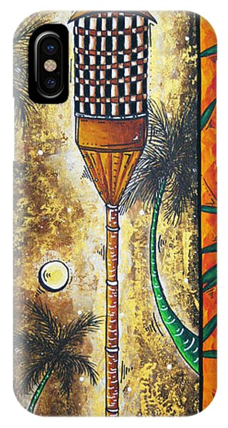 Hawaiian Sunset iPhone Case - Tiki Dreams By Madart by Megan Duncanson