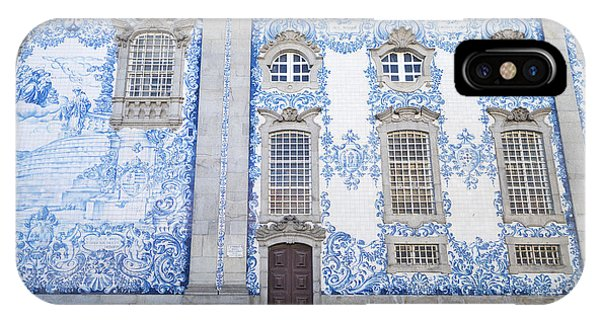 Tiled Church In Porto Portugal IPhone Case