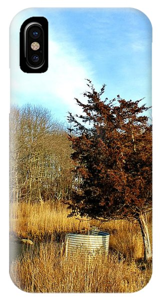 Tilted Tree  IPhone Case