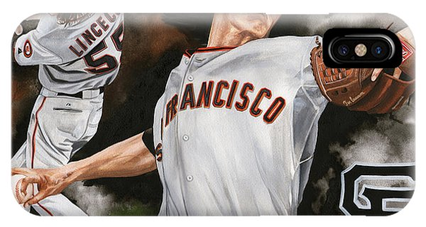 Tim Lincecum IPhone Case