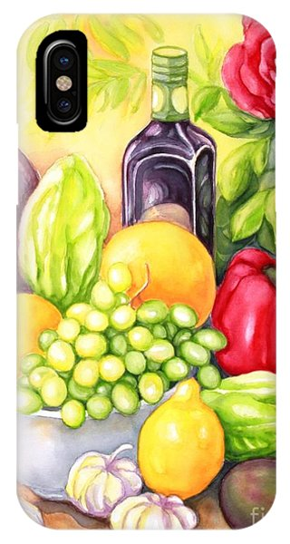 Time For Fruits And Vegetables IPhone Case