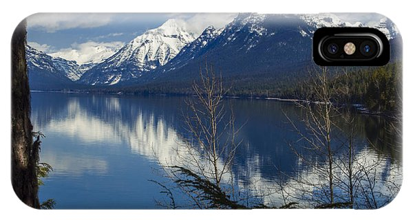 IPhone Case featuring the photograph Time For Reflection by Fran Riley