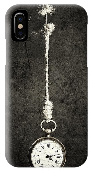 Time Is Up Phone Case by Sergio Rapagn??
