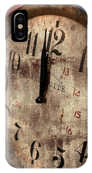 Time Moves Phone Case by Michael Hope