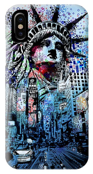 Times Square 2 IPhone Case