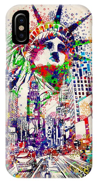 Times Square 3 IPhone Case