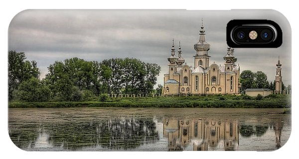 Church iPhone Case - Time To Reflect by Evelina Kremsdorf