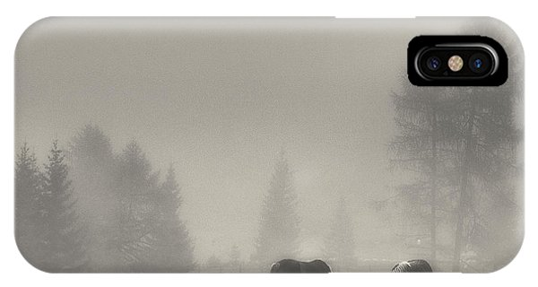 Horse iPhone Case - Timeless Moments by Swapnil.