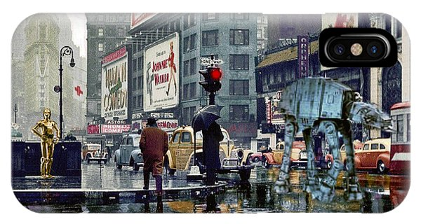 Times Square 1943 Reloaded IPhone Case