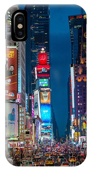 Times Square I IPhone Case
