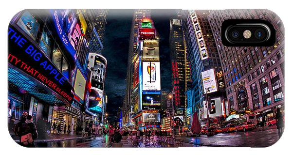 Times Square New York City The City That Never Sleeps IPhone Case