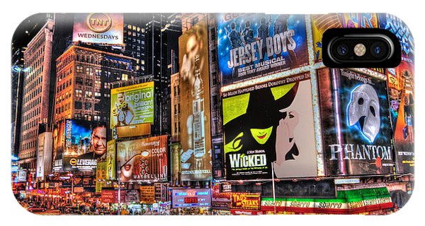 Musical iPhone Case - Times Square by Randy Aveille