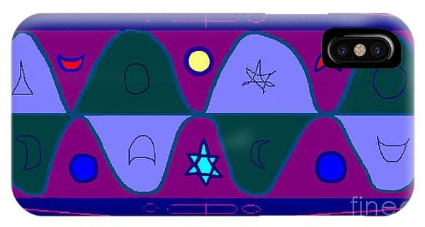 Timewave Phone Case by Meenal C