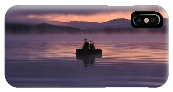 Timothy Lake Serenity IPhone Case