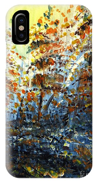 Tim's Autumn Trees IPhone Case