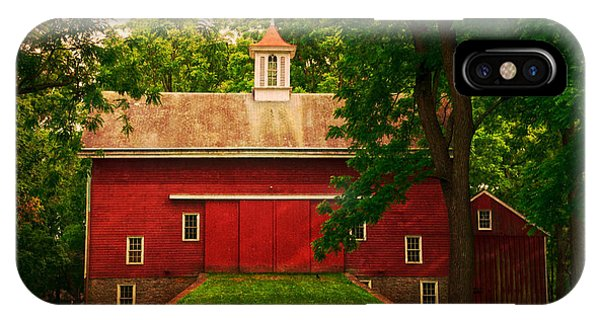 Tinicum Barn In Summer IPhone Case