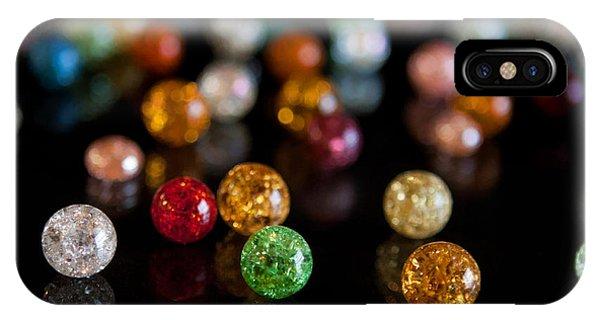 Tiny Crystal Balls IPhone Case