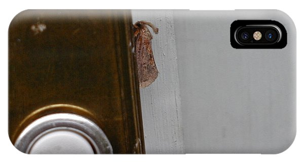 Tiny Doorbell Moth IPhone Case
