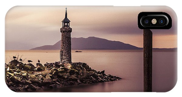 Tiny Lighthouse IPhone Case