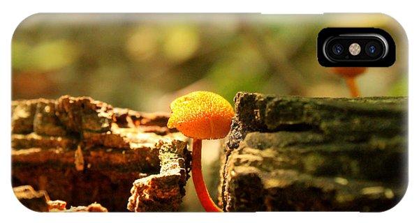 Tiny Mushroom IPhone Case