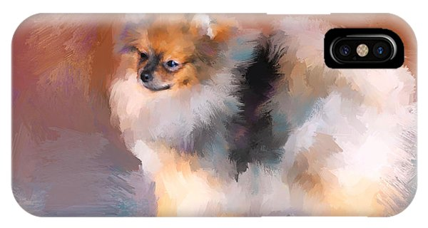 Tiny Pomeranian IPhone Case