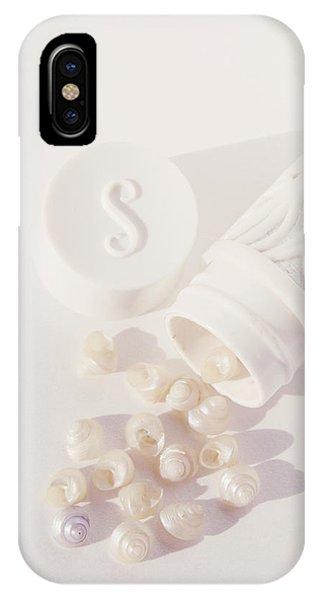 Tiny White Seashells IPhone Case