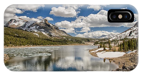 Sierra Nevada iPhone Case - Tioga Lake by Cat Connor