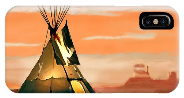 Tipi Or Tepee Monument Valley IPhone Case