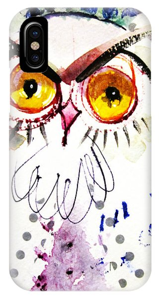 Tipsy Owl IPhone Case