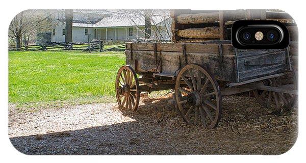 Tipton Hayes Wagon 1 IPhone Case