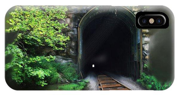 Tiptop Train Tunnel IPhone Case
