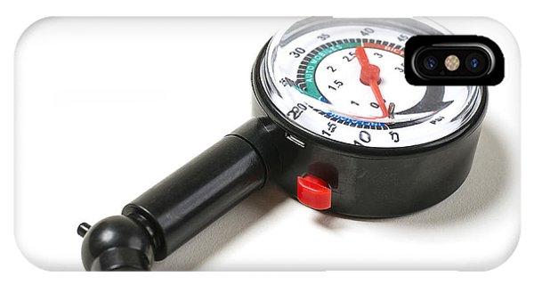 Tire Pressure Gauge IPhone Case