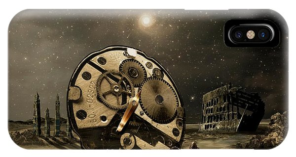 Tired Old Time IPhone Case