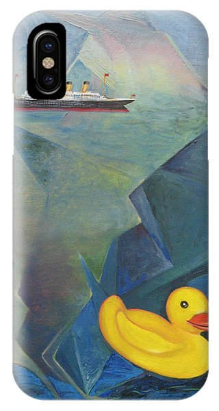 Titanic And The Ducky IPhone Case