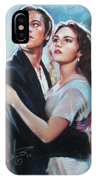 Titanic Jack And Rose IPhone Case
