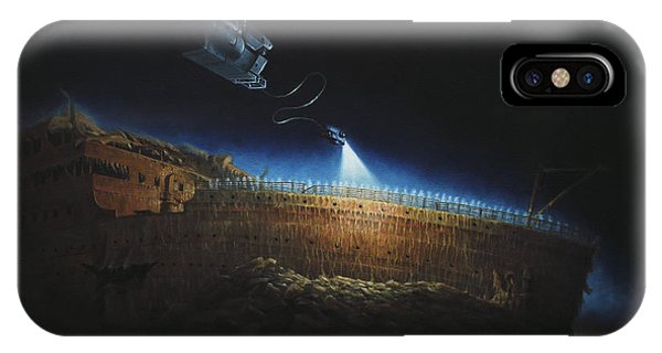 Titanic Wreck Save Our Souls IPhone Case