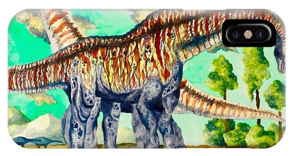 Titanosaurus  IPhone Case