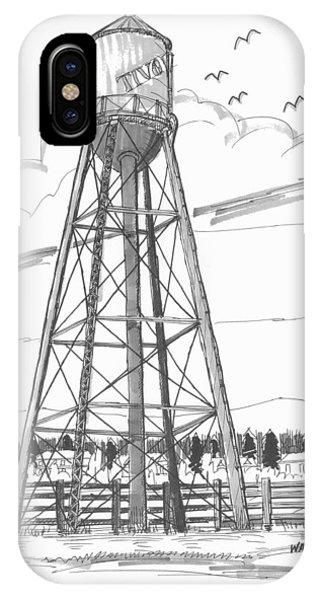 Tivoli Water Tower IPhone Case