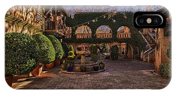 IPhone Case featuring the photograph Tlaquepaque Village No.1 by Mark Myhaver