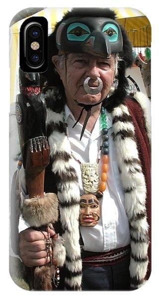 Tlinkit Northwest American Indians Phone Case by Bill Marder