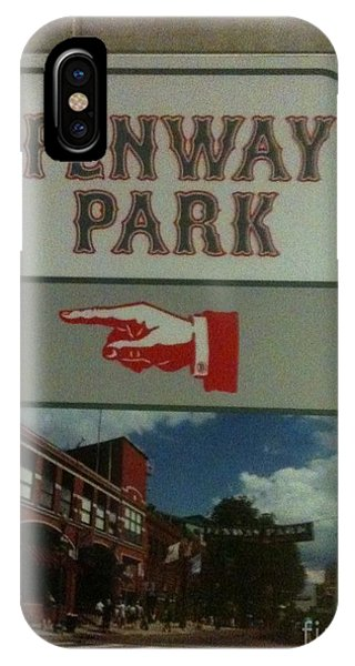 To Fenway Park IPhone Case