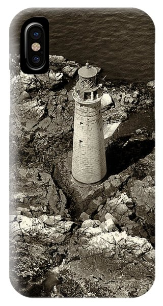 To Light The Graves Black And White IPhone Case